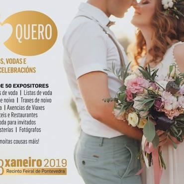 Invitación Salón de  Bodas        «Si Quero» 2019  Pontevedra
